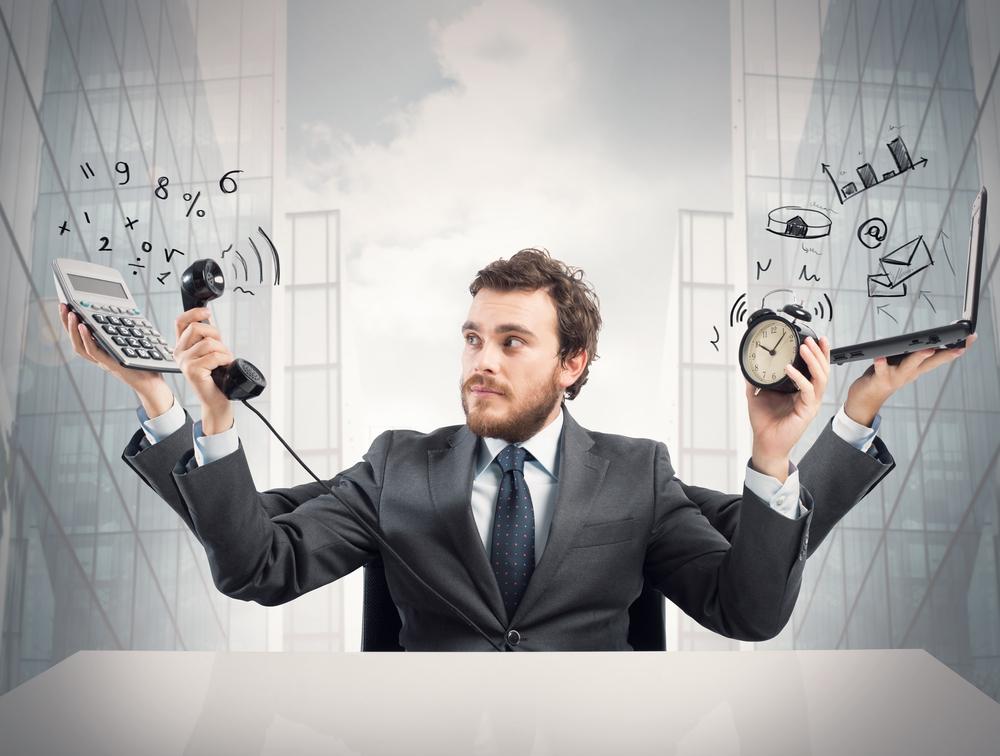 Менеджер по продажам фото многозадачность