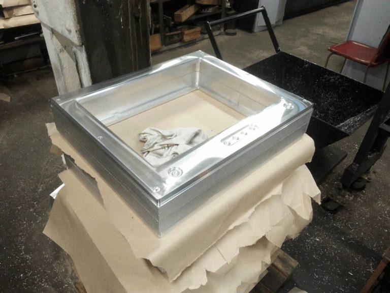 фрезеровка корпуса из аллюминия заготовка