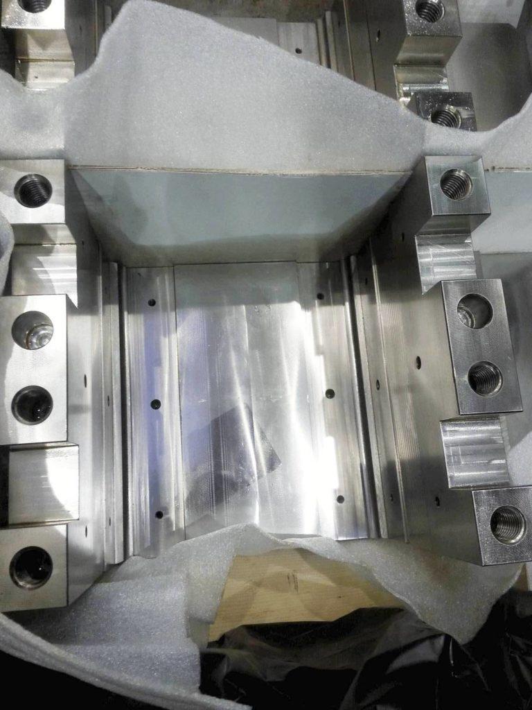корпус сварной из азотируемой стали фрезерованный