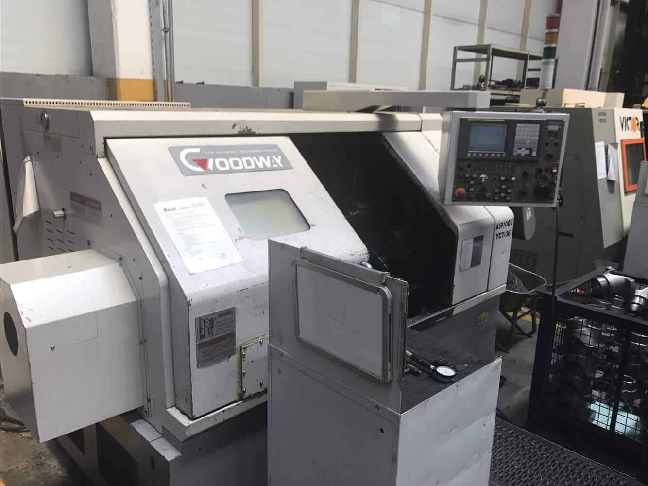 Обработка на токарных станках автоматах Токарный автомат Goodway